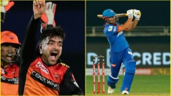 Ipl 2020 Delhi Stoinis Went On Fight With Rashid Khan