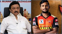 Ipl 2020 M K Stalin Wishes Natarajan For Getting Into T20 Team India Squad