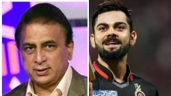 Ipl 2020 Eliminator Srh Vs Rcb Sunil Gavaskar Points Out Virat Kohli Mistake