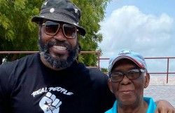The Real Gayle Gayle Posted Pictures With His Father On His Birthday