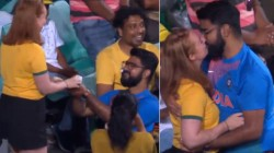 Aus Vs Ind Indian Guy Proposed To An Australian Girl During The Match