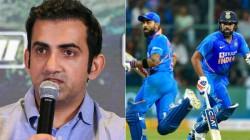 Gautham Gambir Says Rohit Is A Better Captain Than Kohli