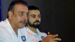 India Vs Australia Virat Kohli Ravi Shastri Planning For Test Match Practice