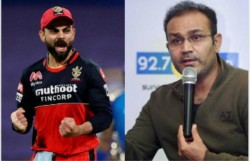 Virender Sehwag Differs With Gautam Gambhir S Opinion That Virat Kohli Should Give Up Rcb Captaincy