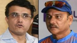 Ipl 2020 Final Ravi Shastri Purposefully Avoided Ganguly Name In Tweet