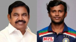 Ind Vs Aus Tamilnadu Cm Eps Wishes Natarajan On His Debut