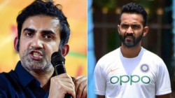 Lot Of Onus On Stand In Skipper Rahane Says Gambhir