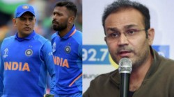 Hardik Pandya Learned A Lot From Dhoni About How Match Should Be Finished Sehwag