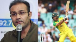 Ind Vs Aus Virender Sehwag Says Maxwell Playing Ipl For Free Drinks