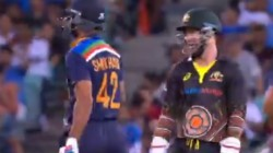 Not Quick Enough Like Dhoni Matthew Wade Tells Shikhar Dhawan After Stumping Chance