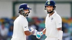 Ind Vs Aus Ajinkya Rahane Pujara Saved Their Wickets