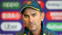 Ind Vs Aus Steve Smith Didnt Remove Pants Guard Says Justin Langer