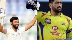 Vishnu Solanki Says That Dhoni Is The Reason Behind His Helicopter Shot