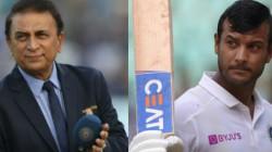 Sunil Gavaskar Feels That Mayank S Changed Batting Stance Is The Reason Behind The Struggle