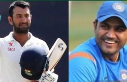 Wonderful Selfless Cricketer Sehwag Wishes Pujara As Batsman Turns