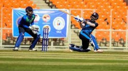 Vishnu Solanki Brings Up A Dhoni With A Helicopter Shot To Finish The Match For Baroda
