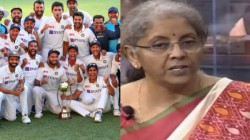 It Shows Our Strength Says Nirmala Sitharaman On India Victory Against Australia In Test
