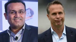 Sehwag Trolls Michael Vaughan Co With Hilarious Johnny Lever Meme