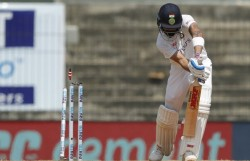 Fifty For Indian Captain Virat Kohli 24th In Test Cricket