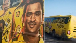 Csk S New Bus For Ipl 2021 Makes His Fans Happy