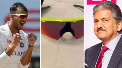 Anand Mahindra Uploaded A Selfie In Axar Patel S Shades After Team India Defeats England In T20is