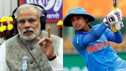 Pm Modi Praises Indian Cricketer Mithali Raj In Maan Ki Baat Show