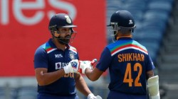 Rohit Shikhar Complete 5000 Partnership Runs In Odi Cricket
