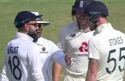 Engvsind 4th Test Skipper Virat Kohli And Ben Stokes Involve In Furious Exchange Video Viral