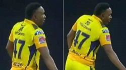 Ipl 2021 Dwayne Bravo Comes Up With Vaathi Coming Celebration Video Goes Viral