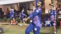 Rajasthan Royals Spinner Shreyas Gopal Imitates Jasprit Bumrah S Bowling Action