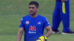 Ipl 2021 Csk Captain Dhoni In Better Fitness Than Last Season