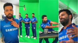 Rohit Sharma S Fun Bts Video With Hardik Pandya Suryakumar Yadav