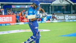 Ipl 2021 Rohit Sharma Uses His Shoes To Create Awarness To Save Ocean Reefs In Match Against Srh