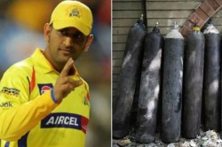 Ipl 2021 Ms Dhoni S Csk Donates 450 Oxygen Cylinders To Tn Government