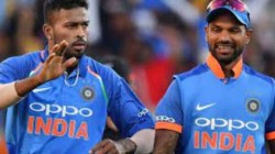 Bcci Needs Dhawan Hardik To Get Match Ready Decided To Travel To Sri Lanka
