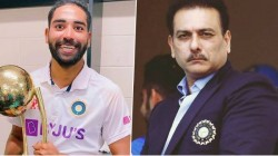 Mohammed Siraj About Ravi Shastri S Motivated Talk After His Father S Death