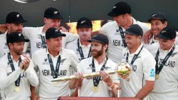 New Zealand Full Night Of Celebrations After Defeating India Wtc Final