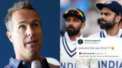 Michael Vaughan S Cheeky Tweet To India Fans After New Zealand Win Wtc Final