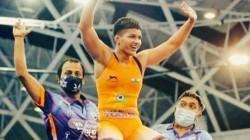 Priya Malik Won Gold Medal At 2021 World Cadet Wrestling Championship