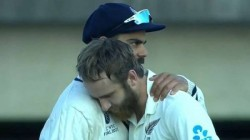 Kane Williamson Gives His Views On His Special Viral Picture With Virat Kohli