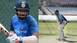 Teamindia S Nets Session At The Durham County Cricket Club