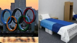 American Sprinter Shared Images About Anti Sex Beds In Tokyo Olympics