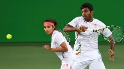 Sania Mirza Rohan Bopanna Pair Wins The Historic All Indian Wimbledon Match