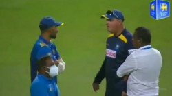 Sri Lanka Head Coach Arthur And Captain Shanaka Involved In Heated Argument After Losing The 2nd Odi