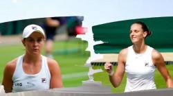 Ash Barty Wins Championship Title Beating Karolina Pliskova In Wimbledon 2021 Women S Singles Final