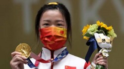 Yang Qian Of China Took First Gold Medal Of Tokyo Olympic