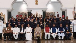Tokyo Olympics 2020 President Ramnath Kovind Had A Cup Of Tea With Olympians