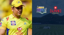 Ms Dhoni Is Likely To Come In Live Eliminator Of Tnpl
