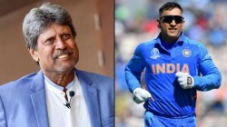 Kapil Dev Said Dhoni S Appointment As Mentor For T20 World Cup Is A Good Decision