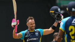 Cpl Csk Fans Goes Crazy After Duplessis Scored Hundred In Cpl